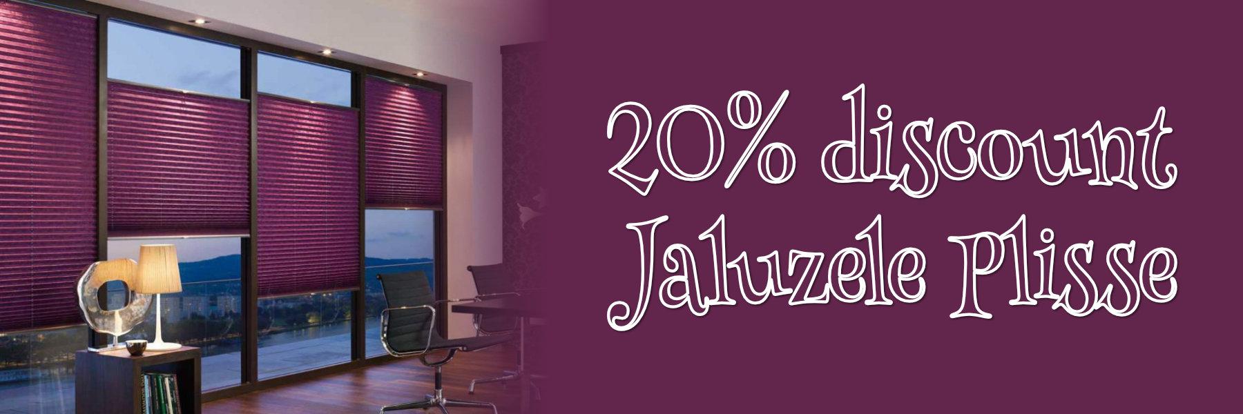 Discount Jaluzele Plisse