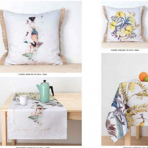 Material textil cu digital print diferite modele pentru bucatarie DRBU004