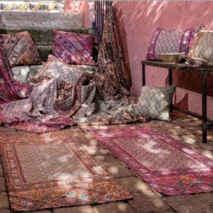 Material textil cu motive traditionale pentru terase DRTR006